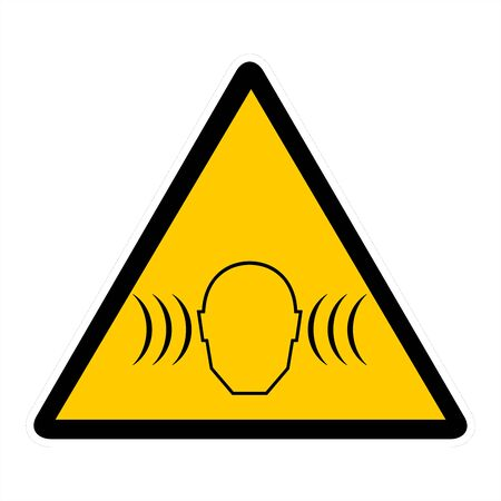 Attentin sign- sound wave Stock Photo - 7143929