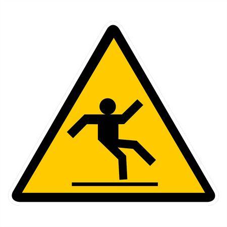 Attentin sign- slippery floor Stock Photo - 7143934