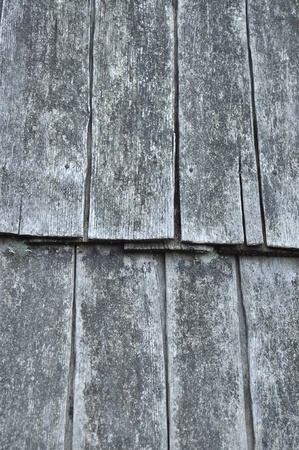 wooden tiled roof