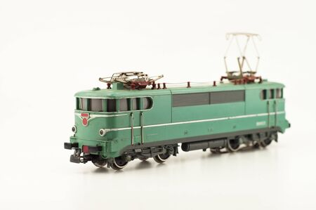 electric locomotive toy photo