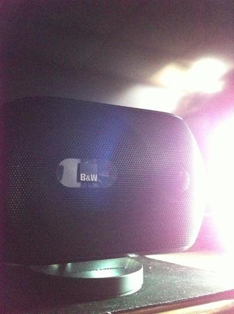 bw: B&W home theater speaker