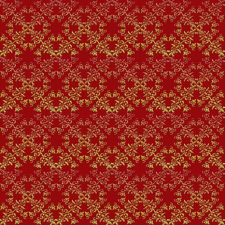 seamless pattern: Baroque style  seamless pattern.