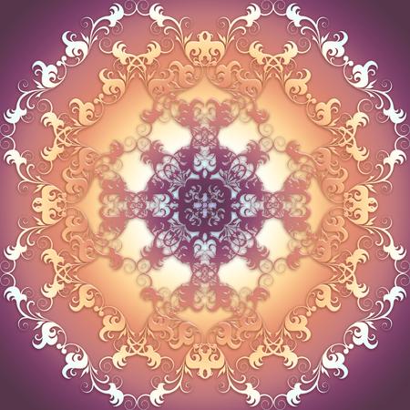 textura: sfondo Textura barocco