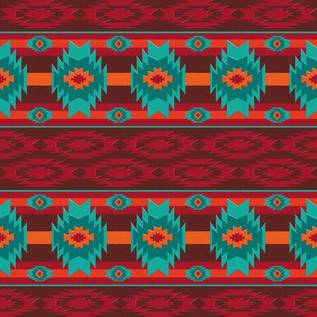 Southwestern navajo seamless pattern Reklamní fotografie