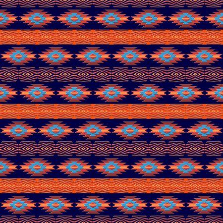 Ethnic geometric pattern Stock Photo