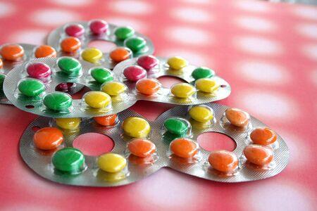 obesidad infantil: Colorido chocolate