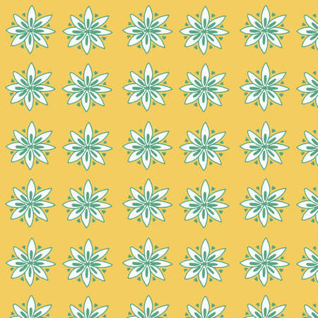 babyroom: Seamless floral pattern for fabrick or babyroom Illustration