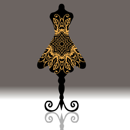 661 Dressmakers Dummy Stock Vector Illustration And Royalty Free ...