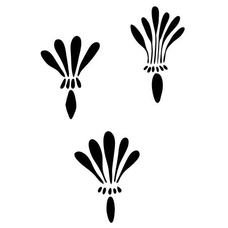 dandelion seed: Very high quality original trendy  vector illustration of a dandelion seed Illustration