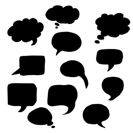 vector message: Very high quality original trendy  vector message or chat icon or bubble
