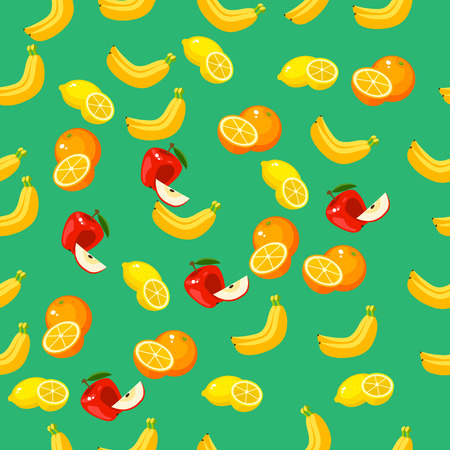 Very high quality original trendy vector seamless pattern with a lemon