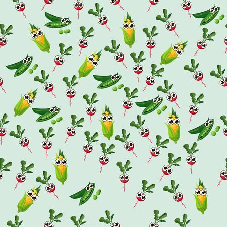 peas in a pod: grean peas pod Illustration