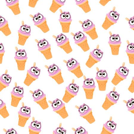 illustration of ice cream