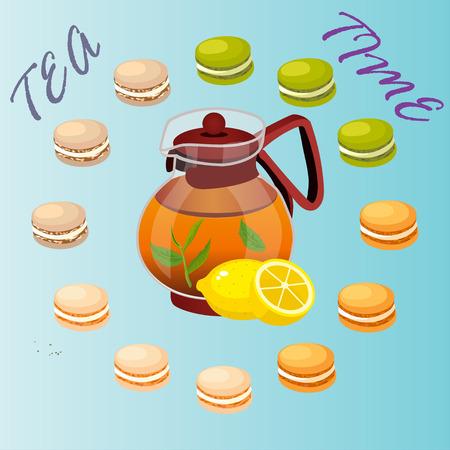 illustration of teapot
