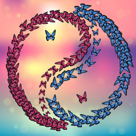 yin y yan: Vector símbolo de Yin Yang Vectores