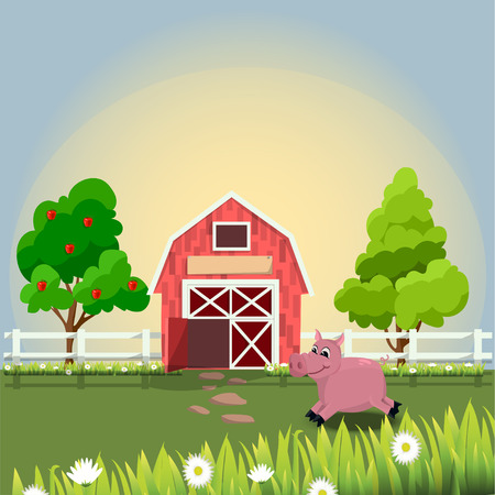 daisy pink: happy and cheerful farm animals