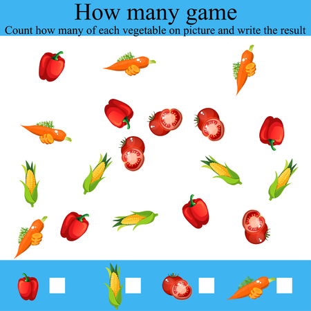 how many objcets game Illustration