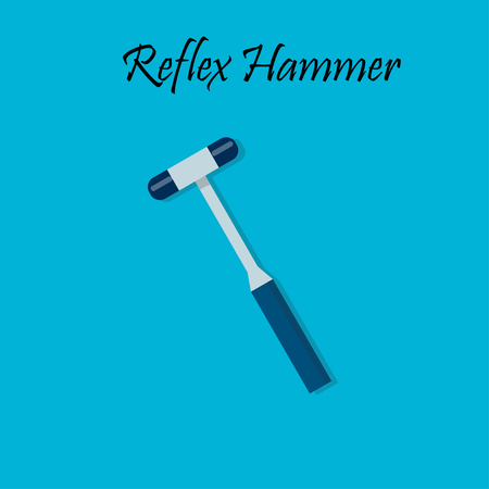 Percussion hammer for medicine testing