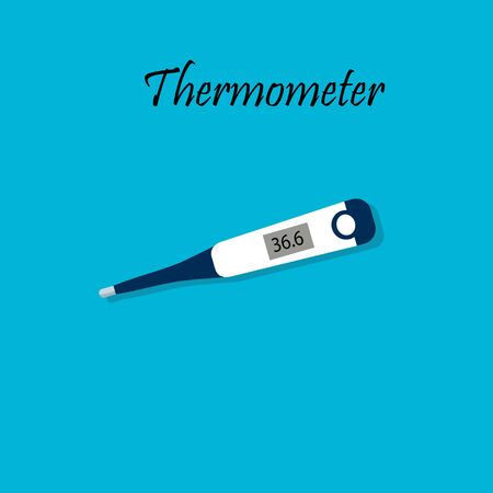 Electronic medical thermometer.