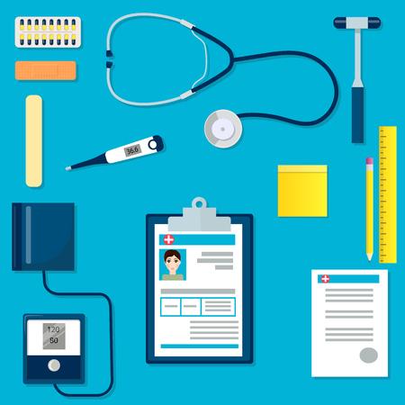Medische apparatuur of hulpmiddelen ingesteld