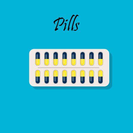 verpakkingen voor medicijnen of vitamines