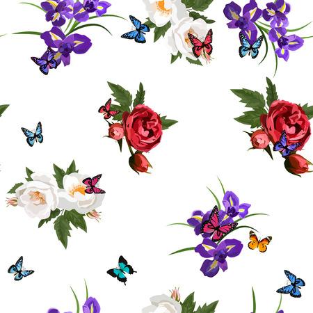 bouquet of flowers Illustration