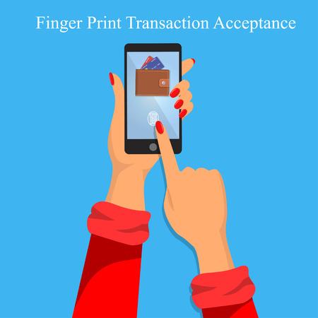 finger print identification or verification