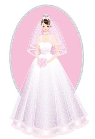 結婚ドレス結婚式ドレス 写真素材