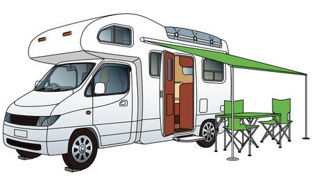 outdoor pursuit: Camper