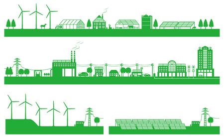 solar equipment: Vivir entre la ciudad y el campo y la energ�a jugabilidad