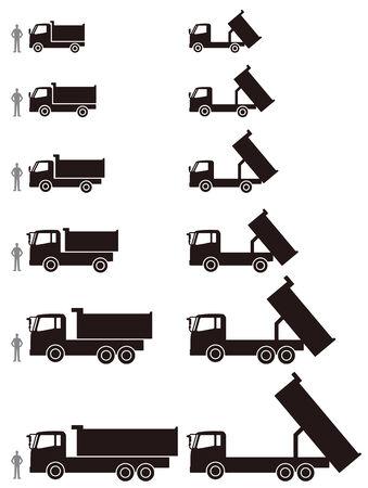 the dump truck: Vuelca cami�n
