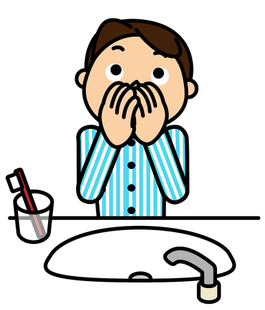 bad breath: Men to check for bad breath