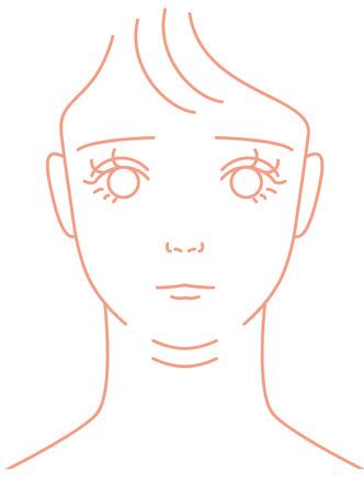 double chin: Double chin  Women  Stock Photo