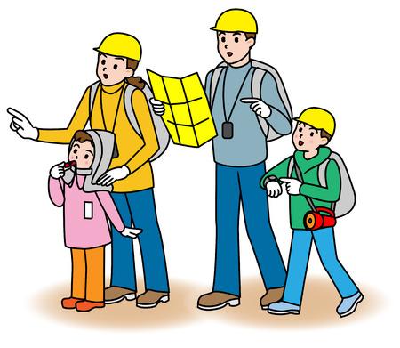 evacuation: Disaster  Evacuation  Training, Japanese style
