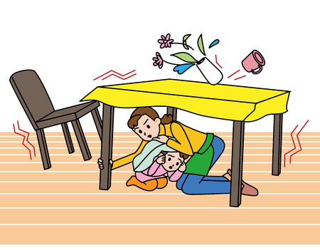 earthquakes: Earthquake  How to protect yourself , Japanese style
