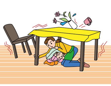 Erdbeben So schützen Sie sich, im japanischen Stil