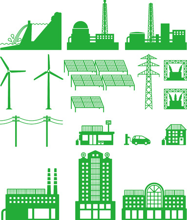 electricity pylon: Power, power generation