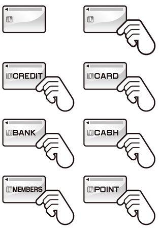 プラスチック製のカード クレジット カード