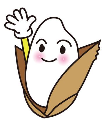 Rice  Character  mascot