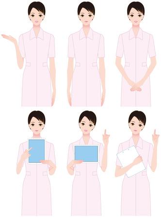esthetician: Nursing women