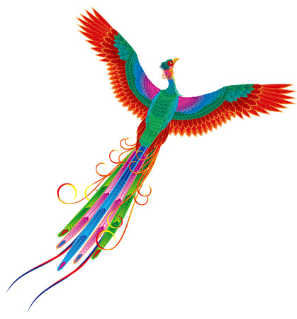 Chinese Phoenix 版權商用圖片 - 33112167
