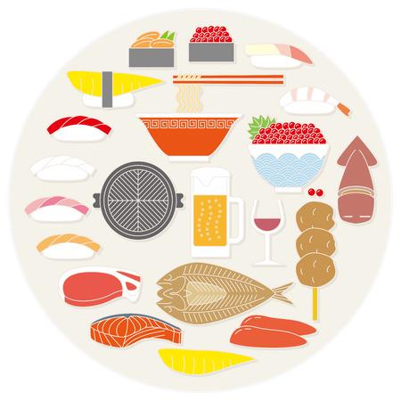 ramen: Hokkaido food. Japan