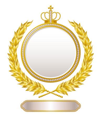 rank: Medal emblem Illustration