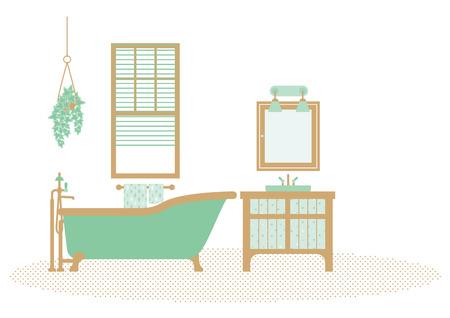 renovations: bathroom Illustration