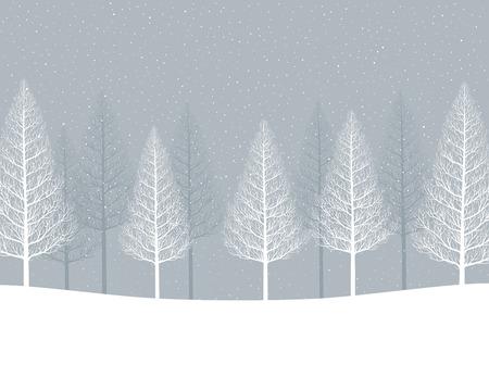 midwinter: Winter tree.