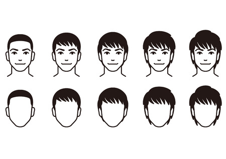 extend: Hairstyle men.