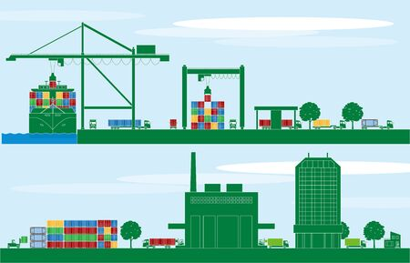 Container terminal and logistics