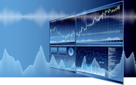 Business Economics image Stock Illustratie
