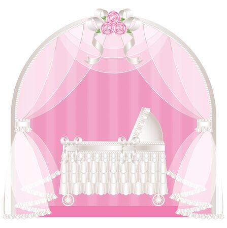 romance bed: Classic crib