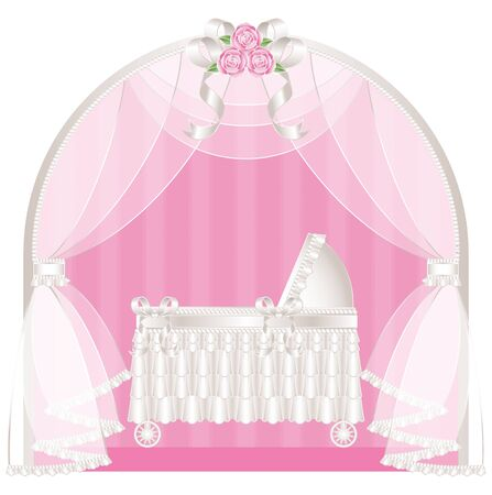 curtains: Classic crib